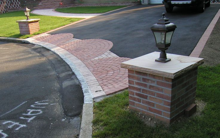 Nicolock Crab Orchard Driveway Apron And Piers Www