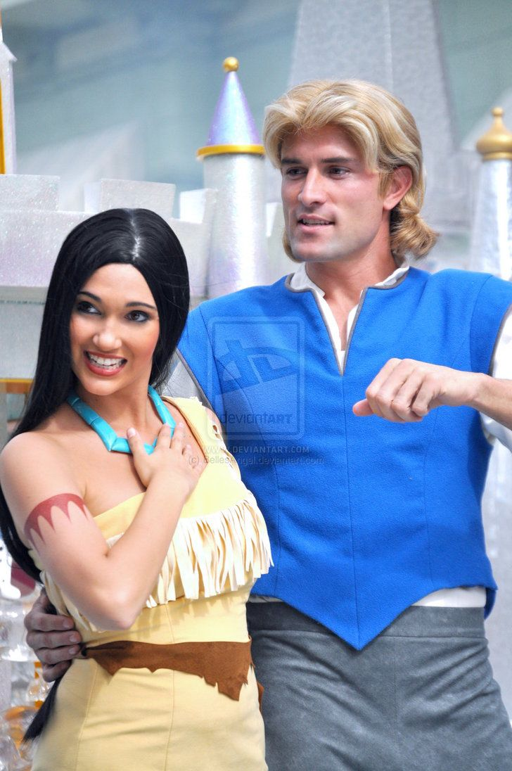deviantART: More Like John Smith and Pocahontas by *BellesAngel