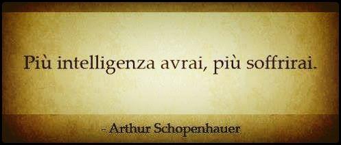 Intelligenza per Schopenhauer