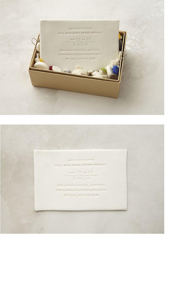 Porcelain Invitation : Alana McCann