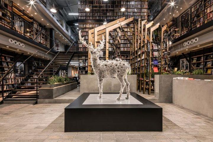 Hauser Wirth Pop Up Bookshop By Dongqi Architects Shanghai China Architecture Retail Design Architect