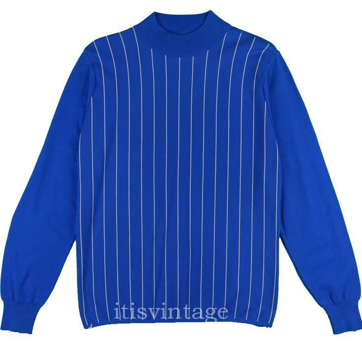 Leonardo Strassi Shirt 60's Vintage Ban-Lon Phillips 66 Colfax Mockneck Pullover #leonardostrassi #colfax #itisvintage #60sfashion