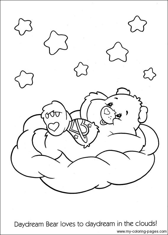 126 best Care Bears Coloring Pages images on Pinterest   Care bears ...