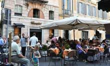 Ciampini for gelato - Piazza San Lorenzo in Lucina 29,  half between Spanish steps and Navona