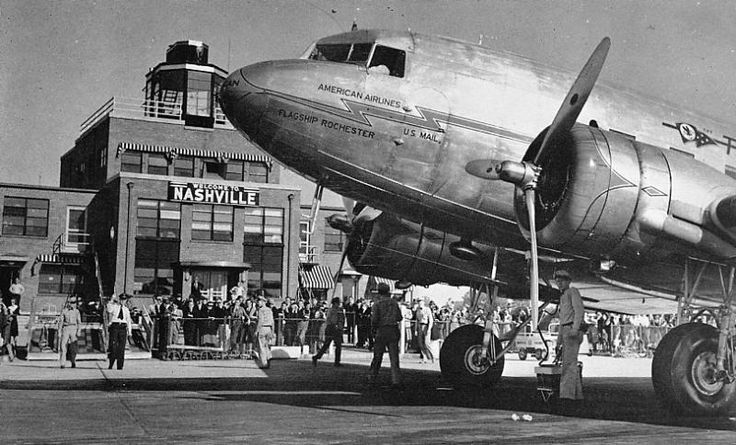 Nashville Airport - 1950 ~ memories ~ BNA Nashville International Airport Parking - so I ...