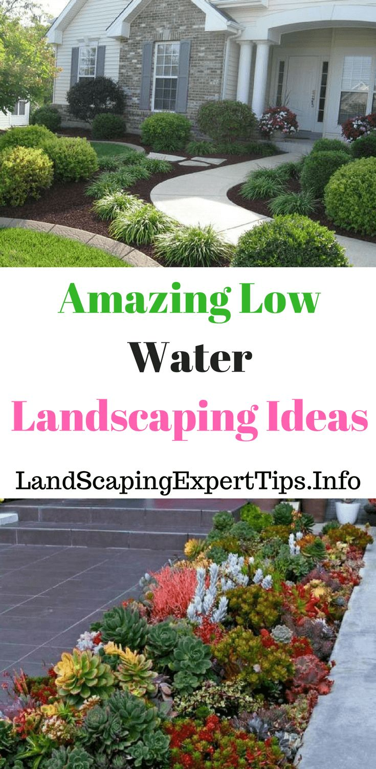 Low water landscaping ideas,front yards low water landscaping ideas,backyards low water landscaping ideas #landscapingideas