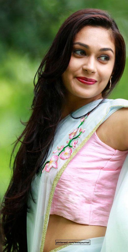 Pure chiffon saree from eastandgrace.com