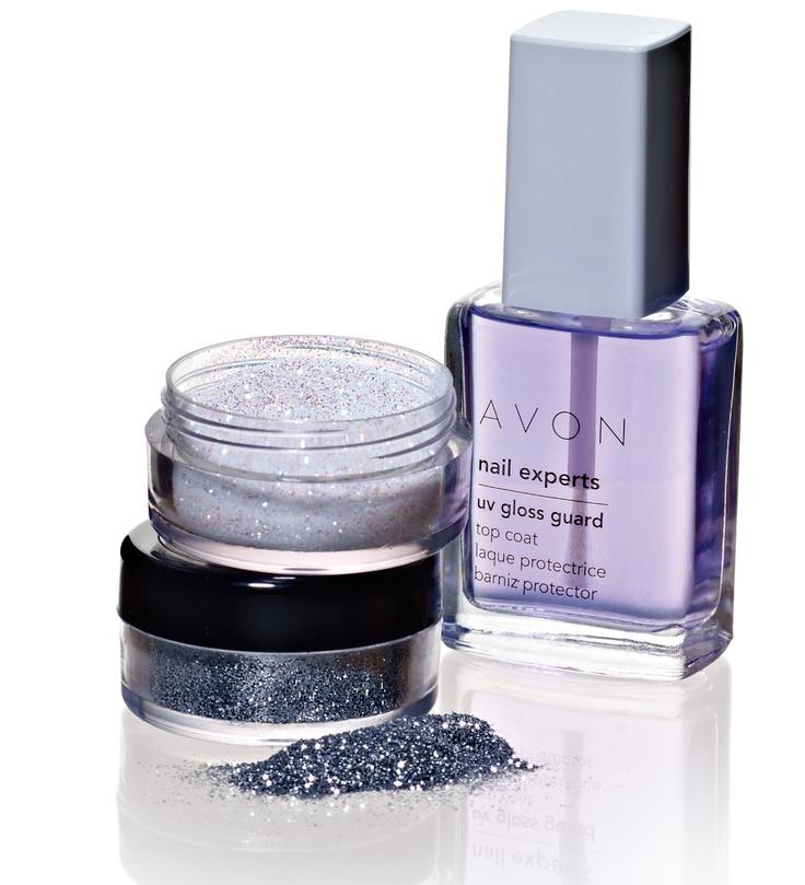 Avon Chrome Nail Powder