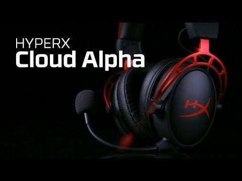 HyperX presenta Cloud Alpha: Audífonos gamer de última generación