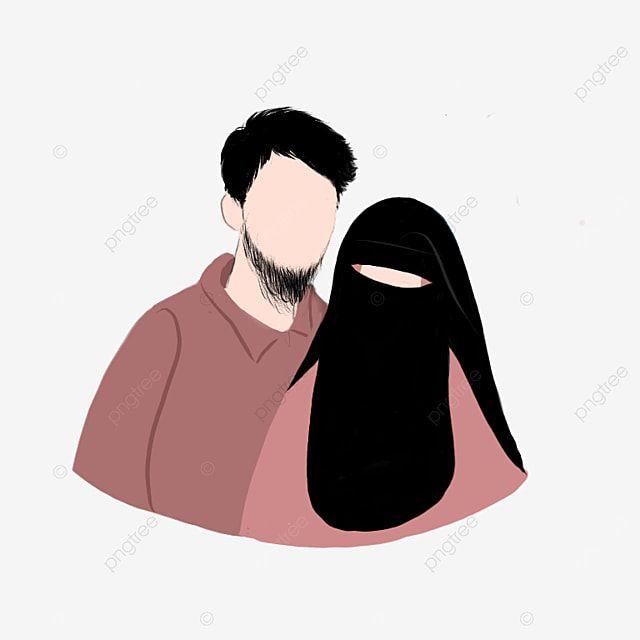 Pin On Sohranennye Piny Muslim couple cartoon hd wallpaper