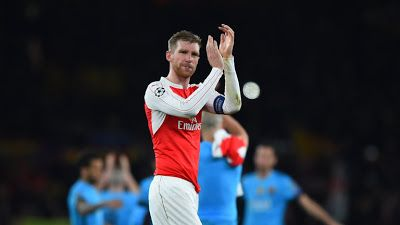 Arsenal To Give Per Mertesacker Contract Extension     Arsenal are close to agreeing a one-year contract extension for captain Per Mertesacker it was revealed last week that theclub has an option to extend his existing contract which expires at the end of the season  The 32-year-old has not played for Arsenal this season after suffering a serious knee injury in pre-season which required surgery. The German was Arsene Wenger's first-choice centre-back last season making 36 appearances and he…
