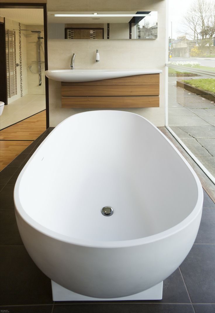 Stunning Combination Of A Laufen Design Basin With A StoneKAST Bath. Come  And Check This