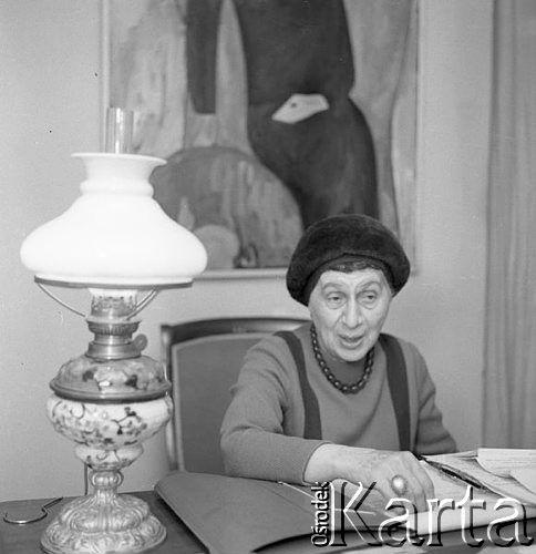 Lata 60. w obiektywie Romualda Broniarka. Jadwiga Grabowska 1966