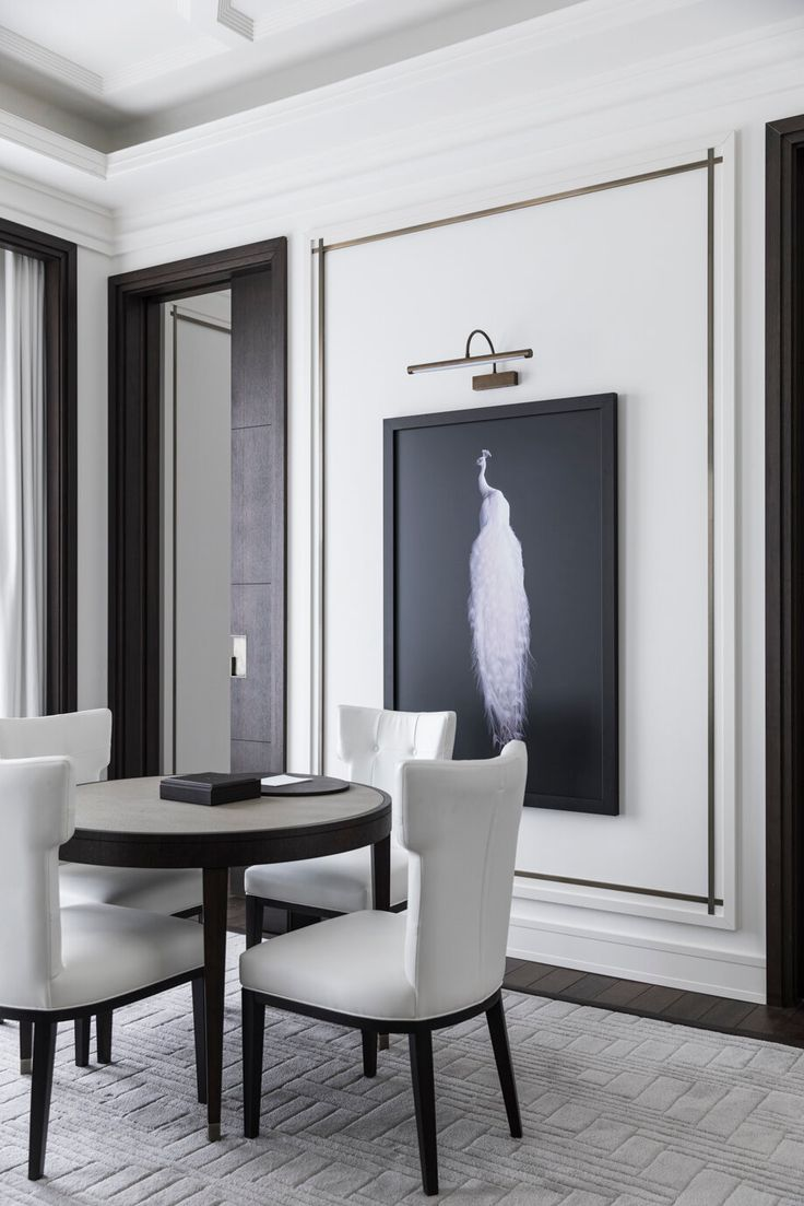Esszimmer Gestalten Modernes Esszimmer Minimalistisch Und Modern Wohnen In 2020 Modern Classic Interior Classic Interior Decor
