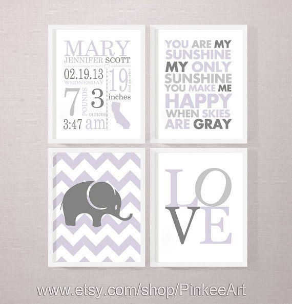 gift for new parents, birth art print, love, sunshine print, birth stats wall art, birth subway art, levander baby stats, new baby print