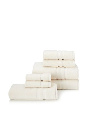 62% OFF Chortex 7-Piece Irvington Bath Towel Set, Cream
