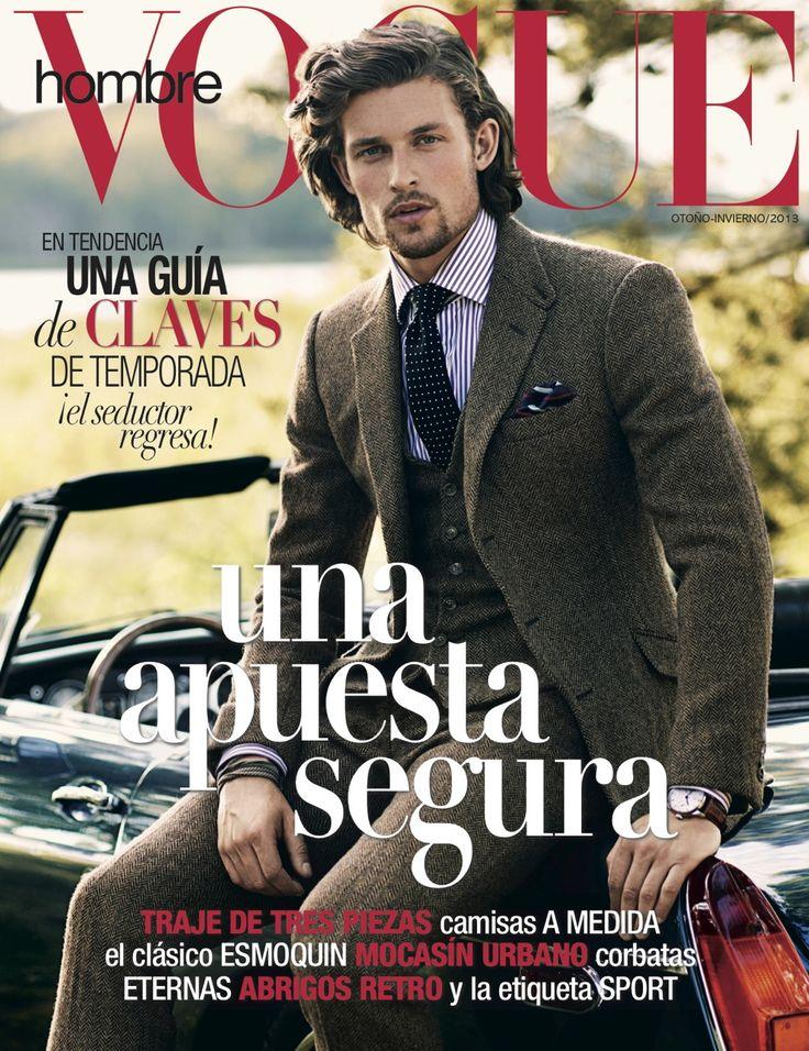 Wouter Peelen - Vogue Hombre  Profile: http://www.spinmodelmanagement.com/de/men/men-details/model/wouter-peelen-774.html