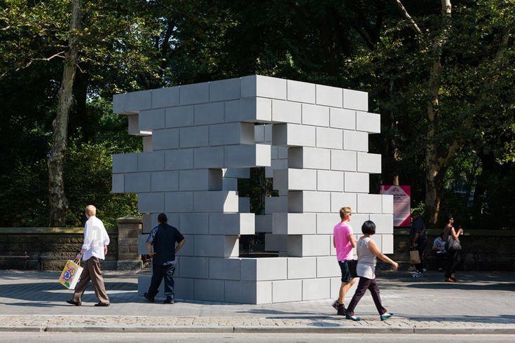 concrete playground by iran do espirito santo for NYC central park & public art fund - designboom | architecture & design magazine