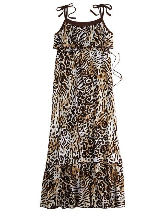 | Justice:) / Girls Clothing | Dresses | Animal Ruffle Top Dress | Shop ...