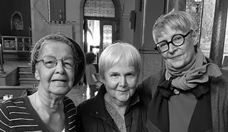 Margaret Cotterell, Ginger Lief & Elisabeth Avery collect parishioners' day-by-day reflections on the season.