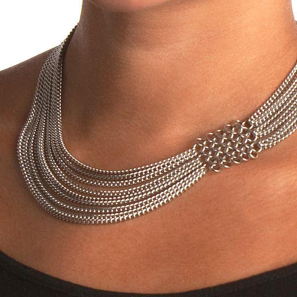 SLINKY Asymmetrical Necklace