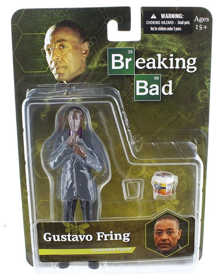 Mezco Figure Gus Fring From AMC Breaking Bad Mint Condition Limited Edition #Mezco #BreakingBad #Collectibles