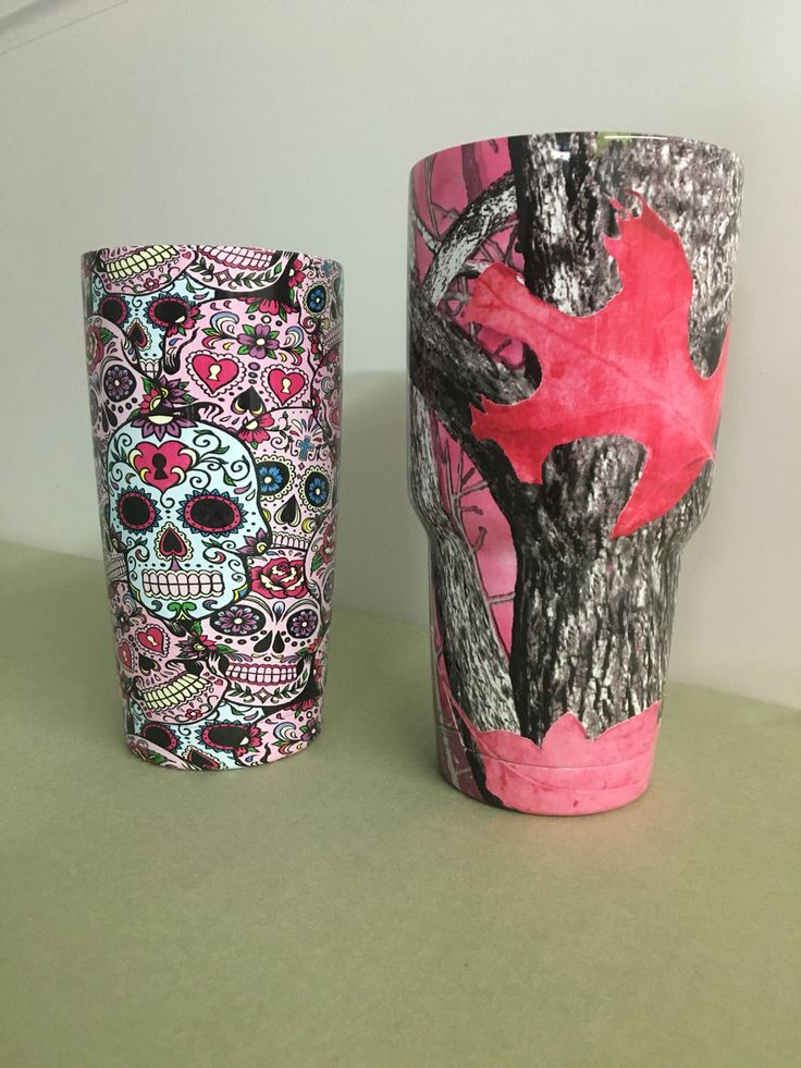Best Yeti Cups Images On Pinterest Glitter Cups Glitter - Sugar skull yeti cup