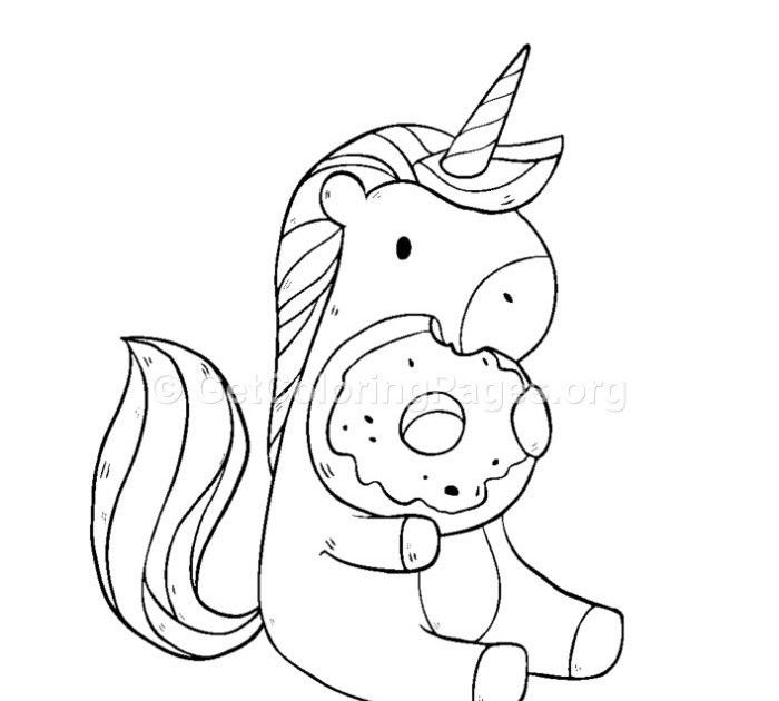 Dout Worry Be Happy Donut Coloring Pages Doughnut Coloring Page Coloring Page Illustration Bo In 2020 Unicorn Coloring Pages Mermaid Coloring Pages Cute Coloring Pages