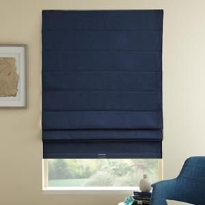 Basic Solid Blackout Roman Shades 6449