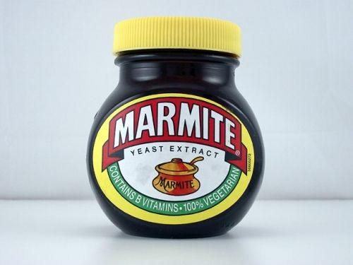 Marmite - Aye, weeeell, opium oot here's like marmite back home, there's a jar in every hoose