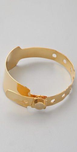 Cast of Vices Gold Hospital Bracelet