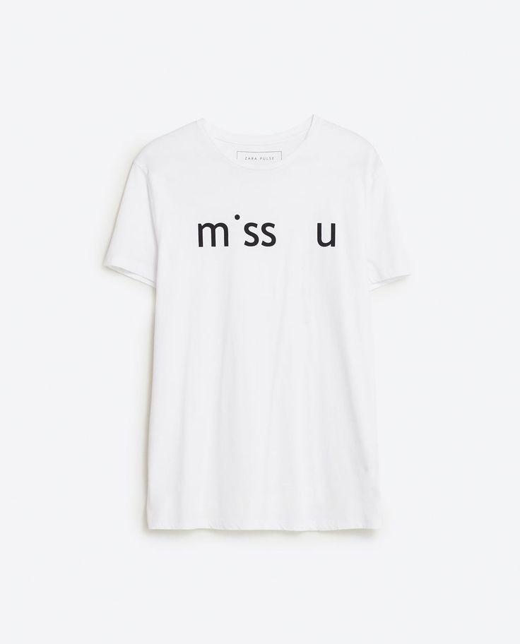 Camiseta Pulse Zara, 9,95€