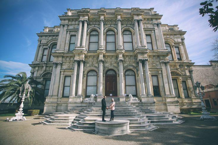 The Beylerbeyi Palace in Istanbul #flytographer.com/vacation-photographers
