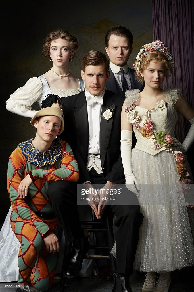 Stock Photo : Actors in Period Costume on Stage