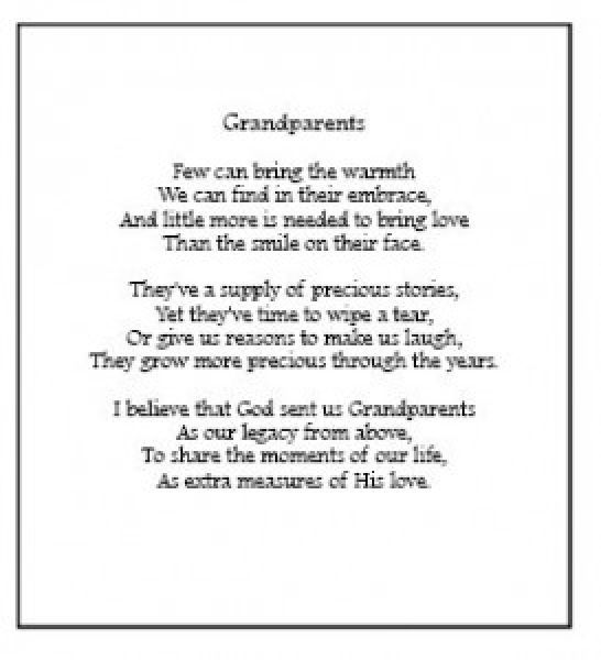 grandparents sayings | Card Sayings For Grandparents ...
