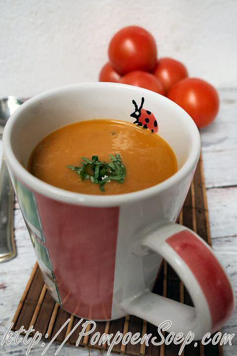 De beste Tomatensoep van Piet Huysentruyt | Smakelijk!