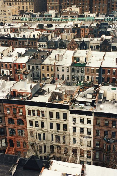 Untitled (rooftops), 2002 photograph by Tim Barber