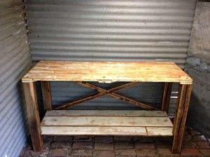 Rustic Island bench / Sideboard
