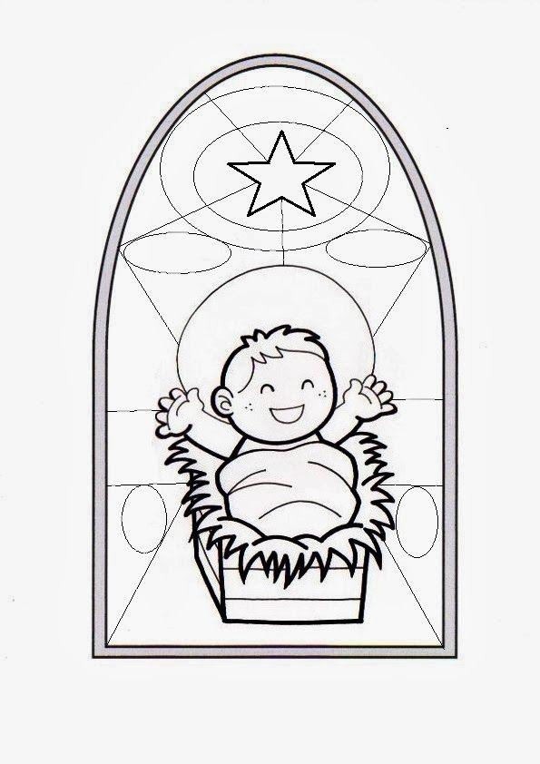 Ficha para trabajar la Natividad del Señor: J ugando con las formas (pa...