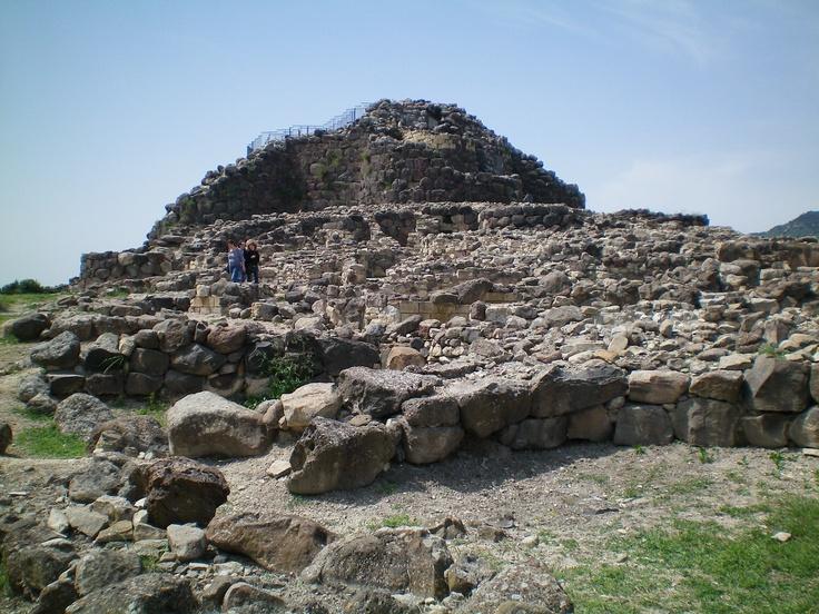 Nuraghe, en Cerdeña. Son construcciones megalíticas. Impresionante verlas.