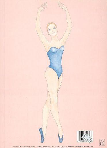 Sabrina the Prima Ballerina | Gabi's Paper Dolls