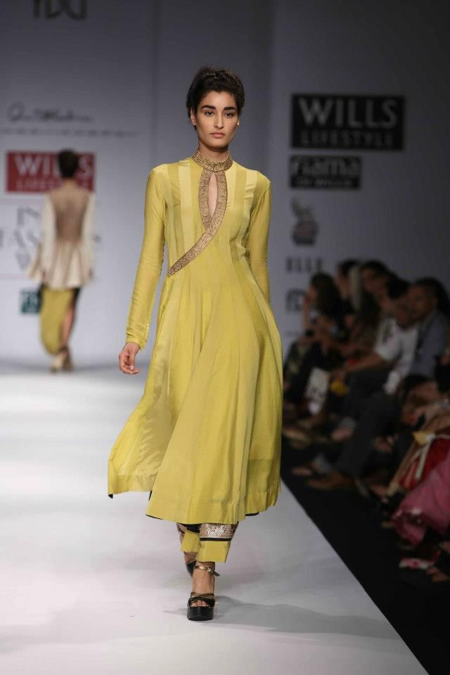 Anand Kabra at Wills Lifestyle India Fashion Week 2013