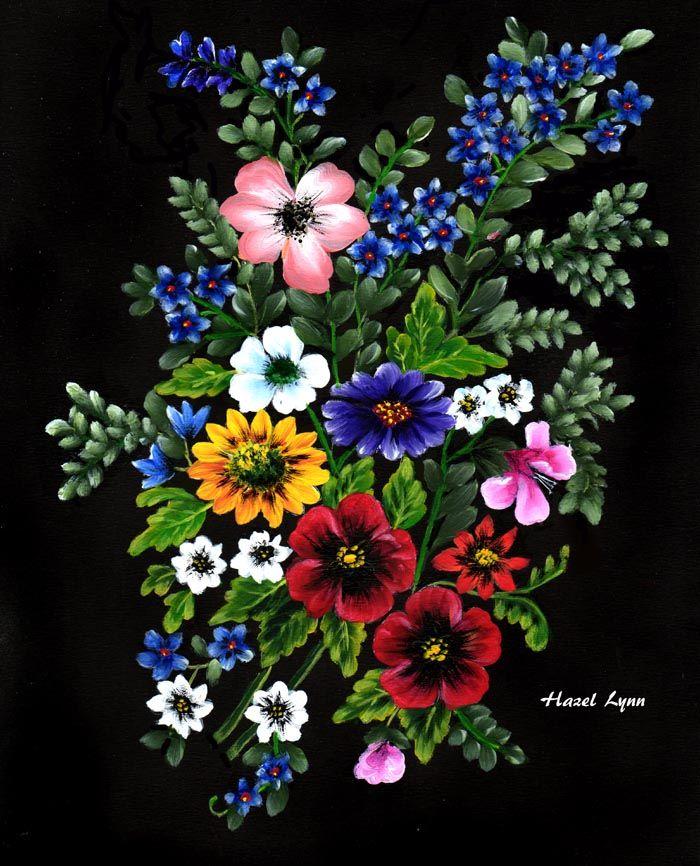 Mixed Flowers . Hazel Lynn