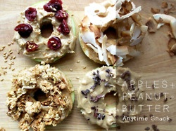 Apples + Peanut Butter: Favorite Things, Healthy Snacks, Kids Snacks, Apples Slices, Daily Motivation, Healthy Food, Peanut Butter, Apples Treats, Coconut Granola