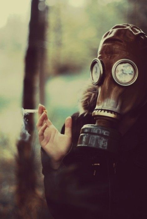 Gas Masks are beautiful