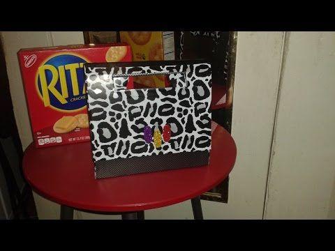 RITZ CRACKERS CARDBOARD PURSE – YouTube
