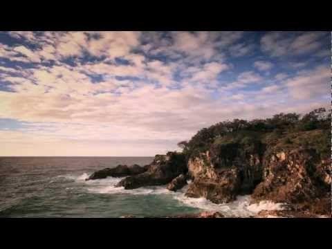 Follow The Sun - Xavier Rudd.  The clip was filmed on location at Stradbroke Island, Queensland Australia.