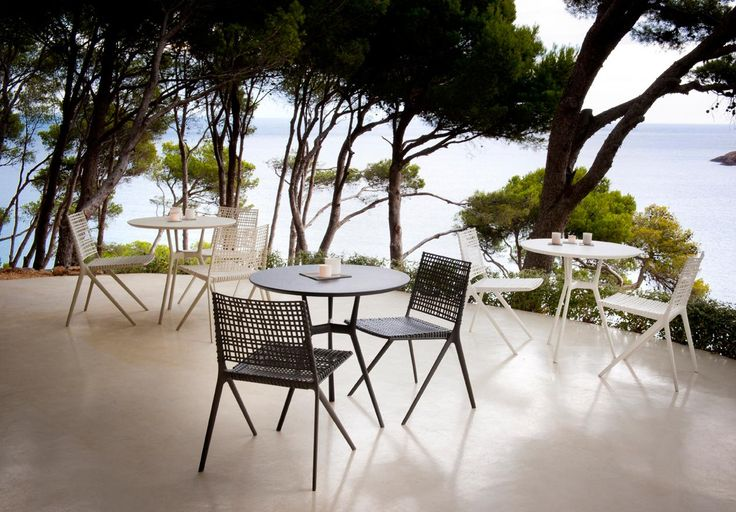 Branch outdoor dining setting by Tribu  http://www.coshliving.com.au/outdoor-brands/tribu/branch/