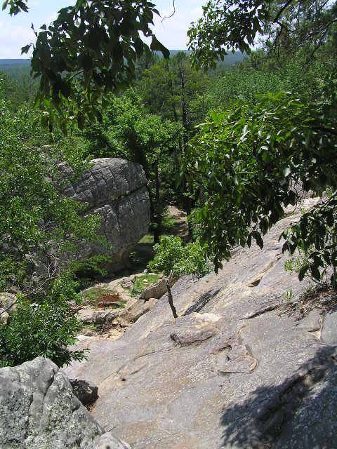 Robbers Cave State Park, Oklahoma