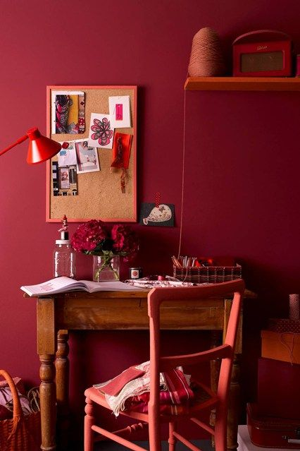 Red Colour Wall: 1000+ Ideas About Red Walls On Pinterest